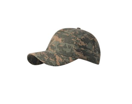 CF6157 Digital Camo Print Ripstop Cotton Cap